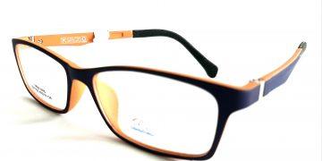 Bicolor morado/naranjo